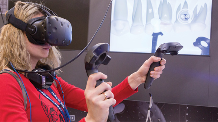 Advances in virtual reality software are creating opportunities for training dentists.