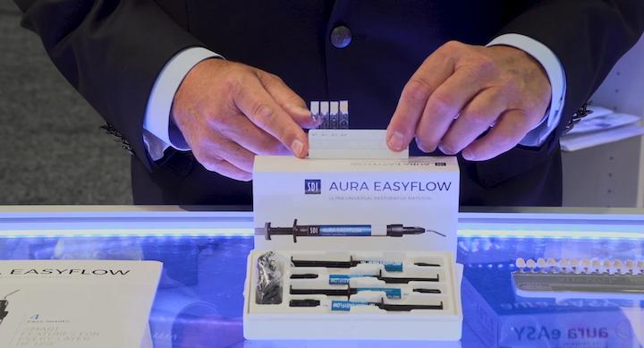 SDI's Aura Easyflow flowable resin composite material